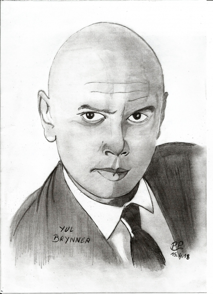 Yul Brynner by Patoux